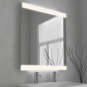 Audio Lucent Wide Light Bathroom Mirror