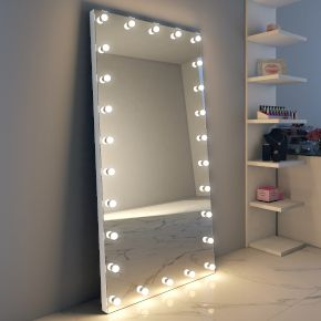 Audio Anastasia Tall Grand Mirror (aluminum frame)