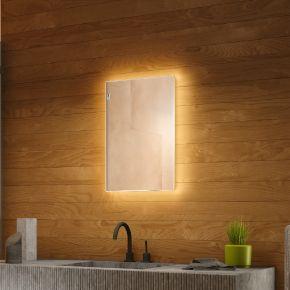 Audio Tall Backlit Bathroom Mirror