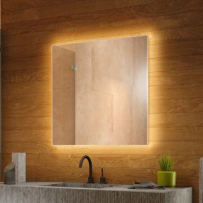 Audio Backlit Bathroom Mirror