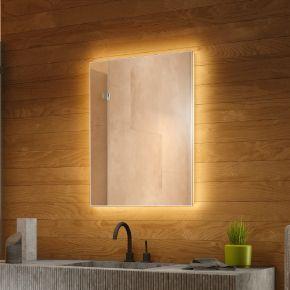 Tall Backlit Bathroom Mirror