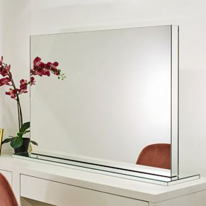 Diamond X Table-top Audio Makeup Mirror (grand)
