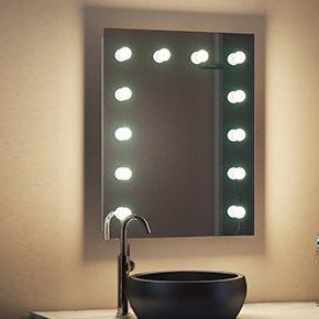Alexandria Audio Bathroom Hollywood Mirror