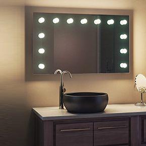 Marianne Audio Bathroom Hollywood Mirror