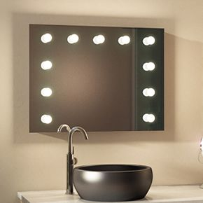 Isabella Audio Bathroom Hollywood Mirror