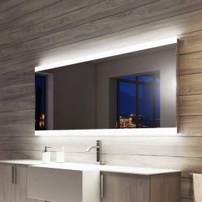 Audio Lucent Wide LED Light Bathroom Mirror