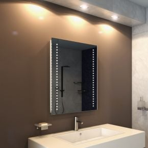 Star Tall LED Light Bathroom Mirror