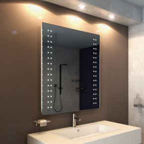 Audio Star Tall LED Light Bathroom Mirror