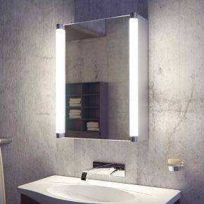 Saber LED Bathroom Demister Cabinet