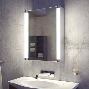 Audio Saber LED Bathroom Demister Cabinet