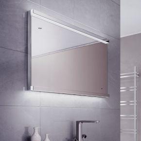 Wide Lumia Bathroom Mirror
