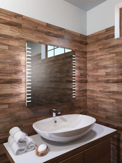 Platinum LED Light Bathroom Mirror