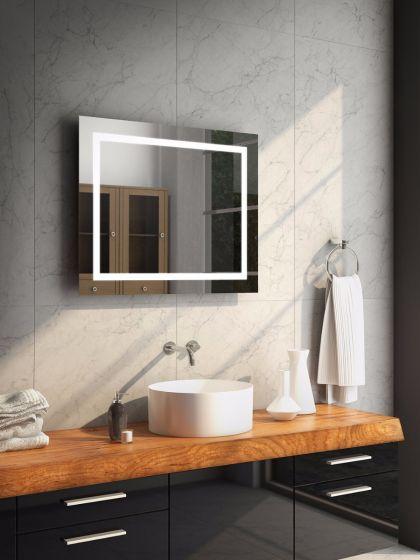 Aurora Wide Audio LED Bathroom Mirror