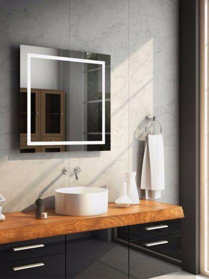 Audio Aurora LED Light Bathroom Mirror