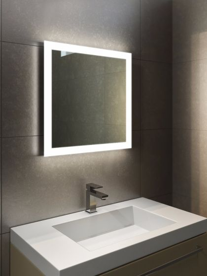 Halo LED Light Bathroom Mirror 1411