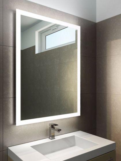 Halo Tall LED Light Bathroom Mirror 1418