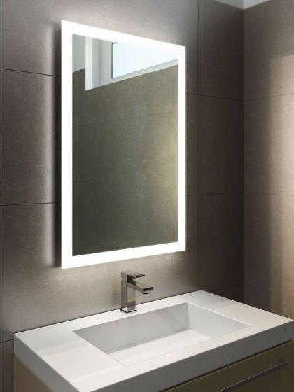 Halo Tall LED Light Bathroom Mirror 841v