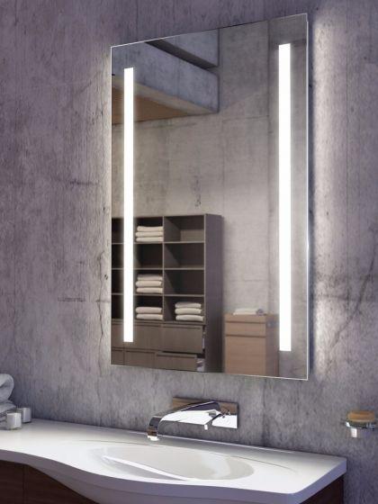 Lumin Tall LED Light Bathroom Mirror 832v