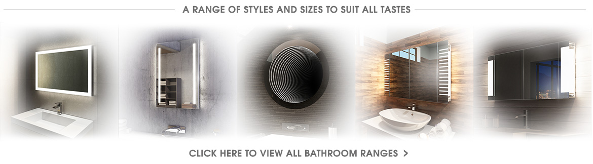 View all bathroom mirror and cabinet ranges