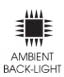 Ambient Back-lit Lighting
